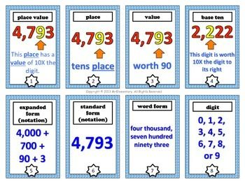 teaching place values place value in maths and place values on pinterest. Black Bedroom Furniture Sets. Home Design Ideas