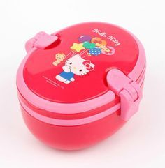 Take this to school, the office, wherever. An adorable Hello Kitty lunchbox with built in cutlery and tray....