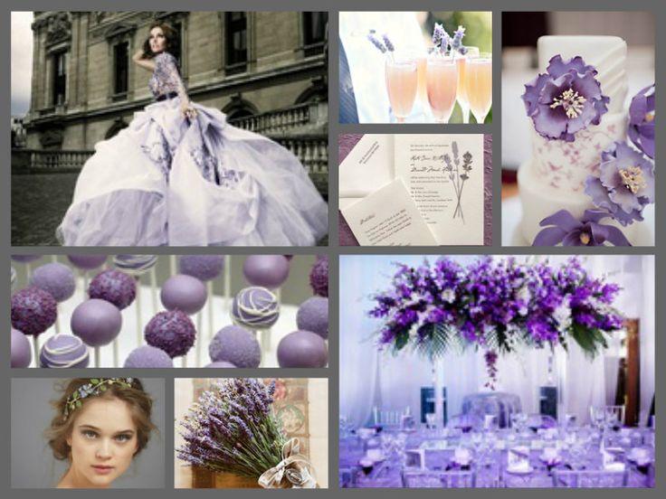 Lavender wedding theme | Lavender Theme | Pinterest ...