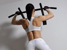 http://leanwife.com/cheap-gym-equipment/ The Iron Gym is an amazing piece of low cost home gym equipment. You can have it set up and ready to roll in less than five minutes and it provides options for a complete upper body workout,