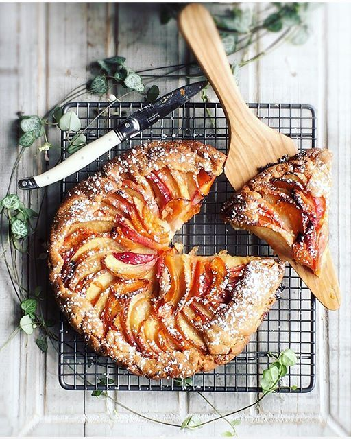 Rustic Stone Fruit Galette via @feedfeed on https://thefeedfeed.com/galettes/madamejuju/rustic-stone-fruit-galette