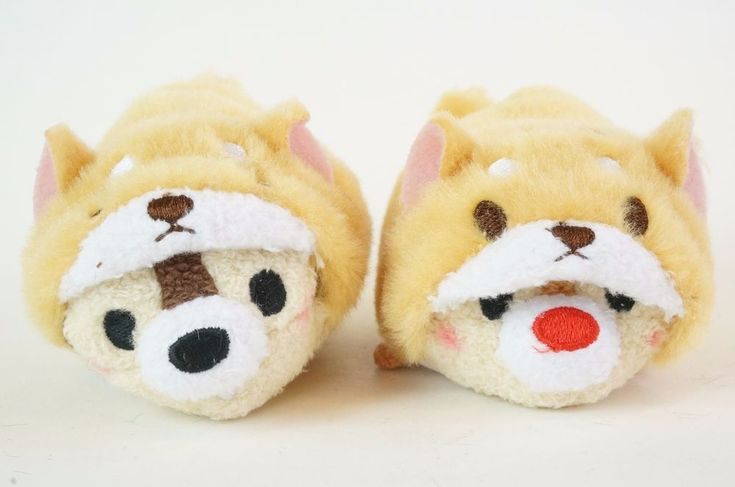 TSUM TSUM 2018. Happy New Year Year of the Dog 2018 - Chip & Dale