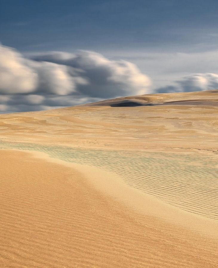 """Polish Desert"", Dunes- Leba Slowinski National Park, Poland"