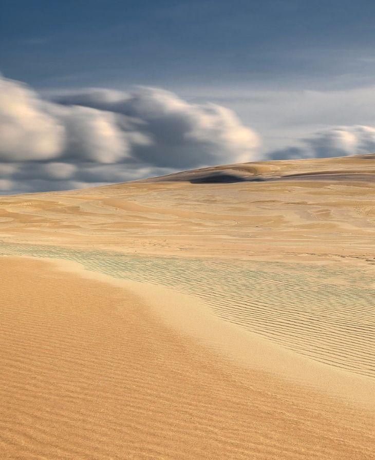 """Polish Desert"", Dunes- Leba Slowinski National Park, Poland"
