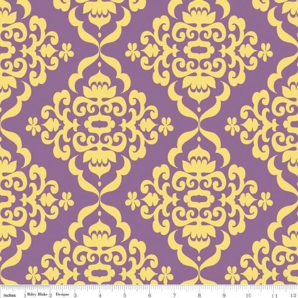 Fiona's Fancy lila/ornamentti 14,00 e/m
