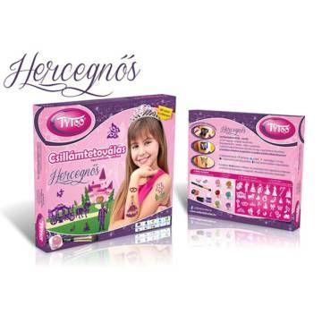 Hercegnős Csillámtetoválás - Tytoo - Egyszerbolt