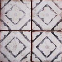 Vintage Looking Faded Spanish Tile