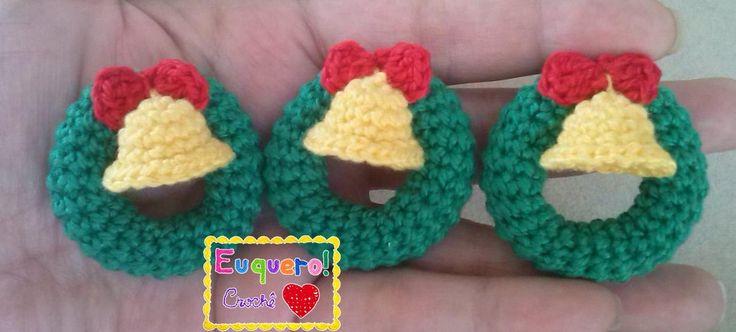 Garland - 3 Guirlandas feitas em crochê