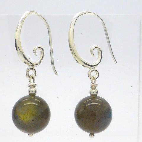 ENX2 Earring Labradorite