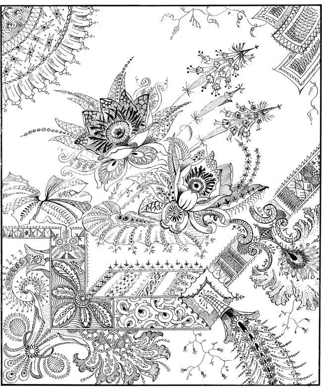 : 600 Decorative Floral Designs