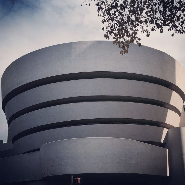 At Guggenheim museum. 2014. December