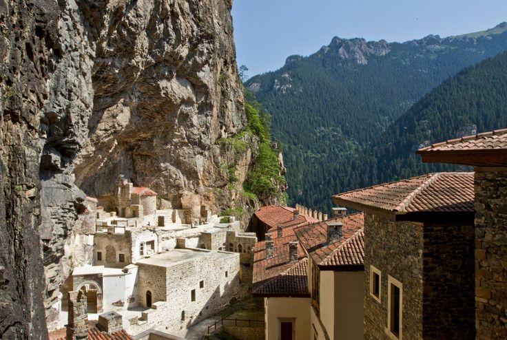 Sumela Orthodox Byzantine Monastery nr. Trabzon Turkey 4th century