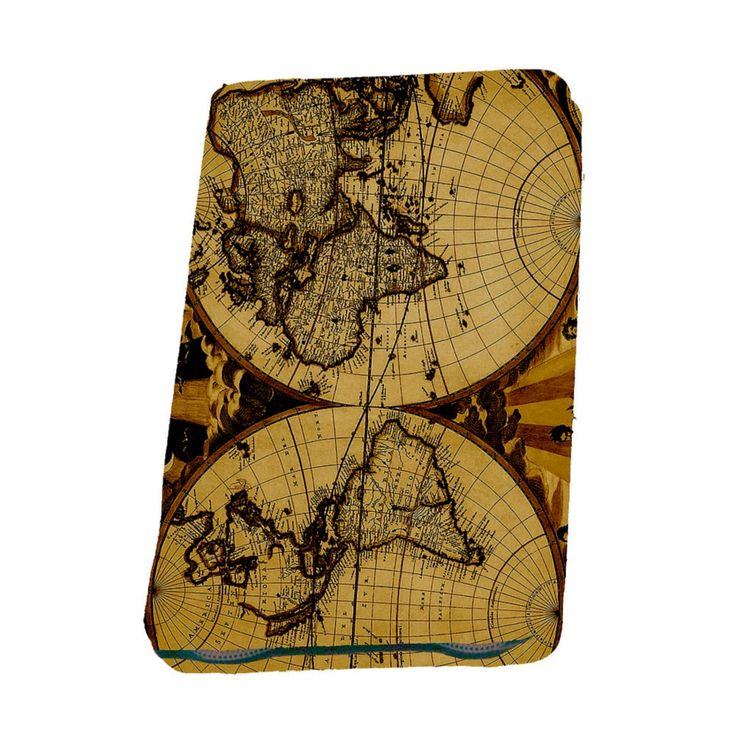 Deva Travel Wallet: Antique Map- $49.95 #travelwallet #documentwallet