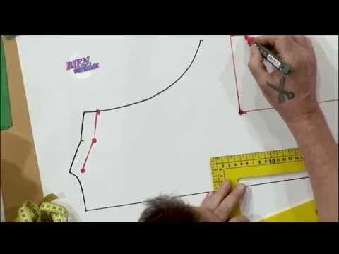 Hermenegildo Zampar - Bienvenidas TV en HD - Explica el molde de un vestido musculosa - YouTube