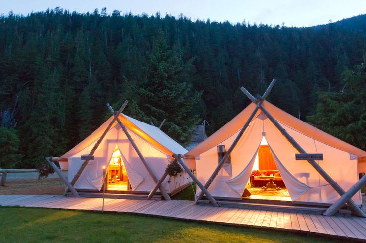 Clayoquot Wilderness Resort on Vancouver Island, British Columbia, Canada. Pin curated by @poppytalk for @explorecanada