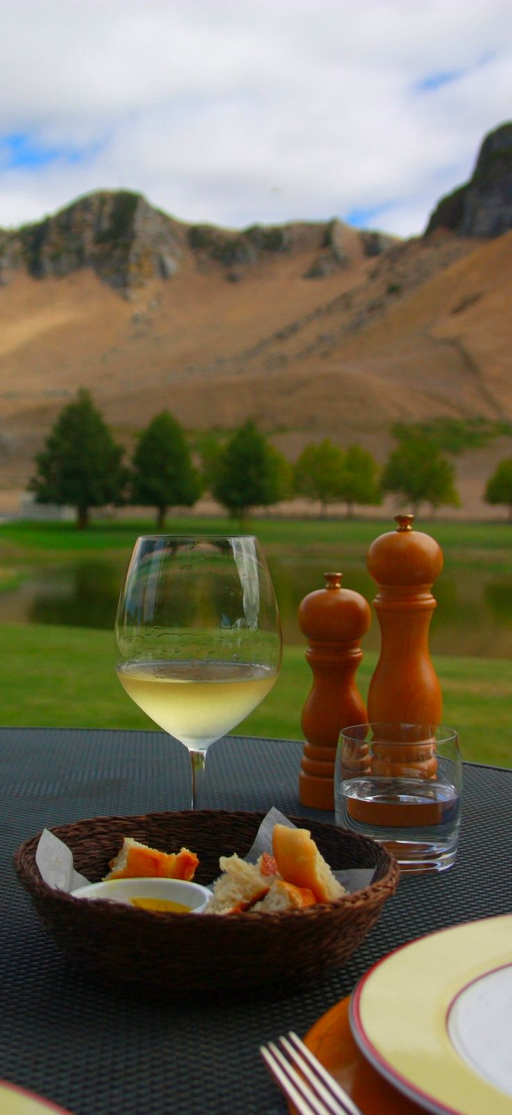 Te Mata Peak from Craggy Range Winery, Hawkes Bay, New Zealand for the wines, the view or the wedding? #destinationweddings #newzealand #nzwine http://www.purenzweddings.com/blog/weddings/best-time-of-year-to-marry-in-new-zealand
