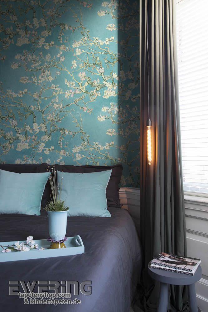 35 best Van Gogh - BN Tapeten images on Pinterest Van gogh - wohnzimmer tapete blau