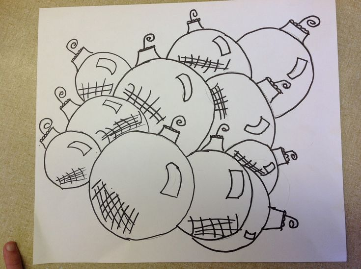 Color It Like you MEAN it!: ornament