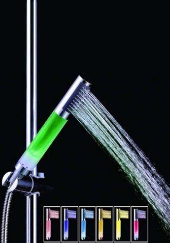 LED-owa nakładka na prysznic to absolutny HIT wśród baterii łazienkowych.