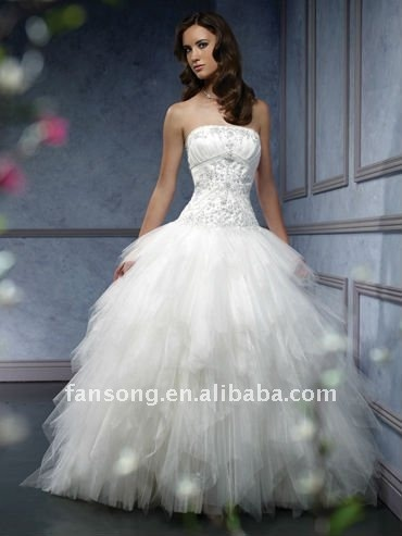 fansong wedding dress