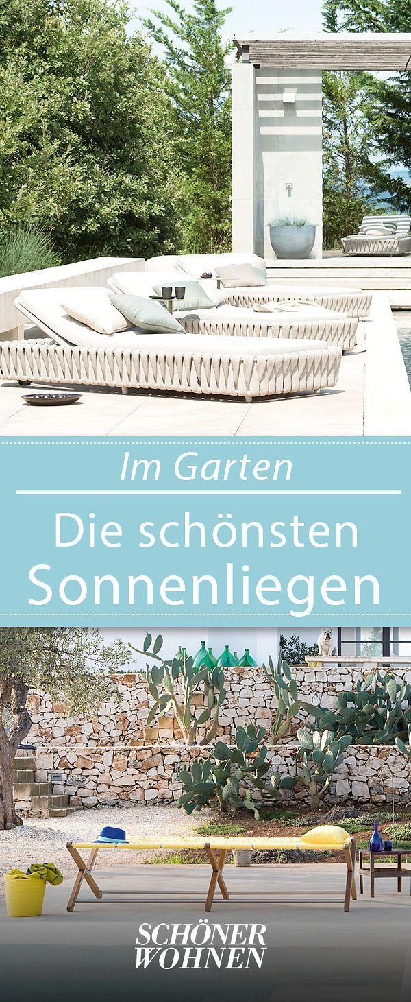 Sonnenliegen Für Garten Und Balkon In 2019 Garten Terrasse