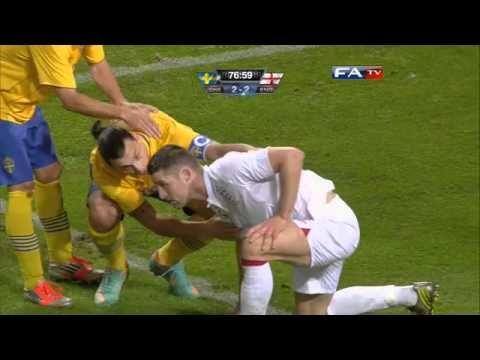 Sweden v England 4-2, Official Goals and Highlights | FATV 14/11/12 - YouTube