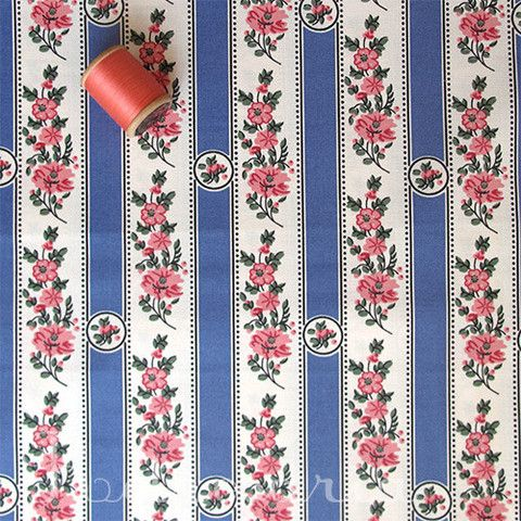 A selection of Portuguese fabrics: Belmonte azul claro - Retrosaria Rosa Pomar: Rua do Loreto, 61 - 2nd floor right (nearest subway station: Baixa Chiado. tuesday to saturday from 10am to 7pm