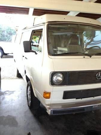 1983 Volkswagen Vanagon For Sale In Fresno California
