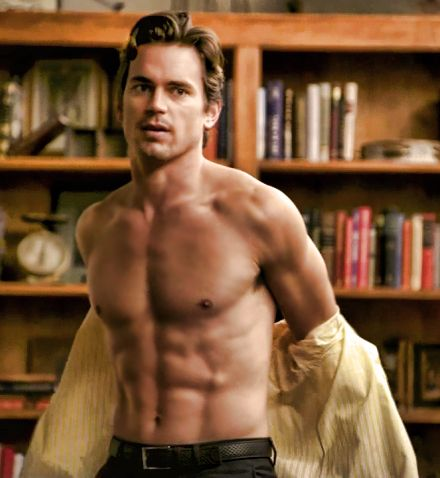Bomer. shirtless. BOOM!