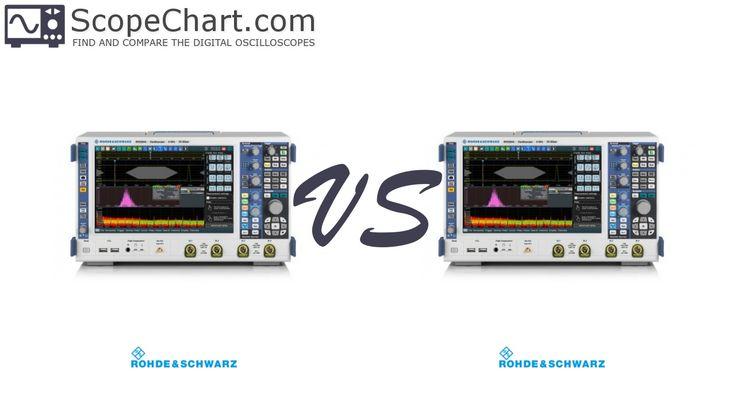 The side-by-side comparison of the Rohde & Schwarz RTO2034 and RTO2044 oscilloscopes. #oscilloscopes #comparison #RohdeSchwarzRTO2034 #RohdeSchwarzRTO2044