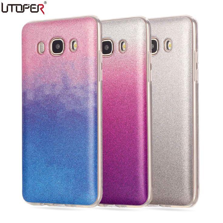 For Samsung J7 Case Silicone Glitter Phone Cover For Samsung Galaxy J7 2015 Case J700 J700F Luxury Soft TPU Shiny Back Fundas