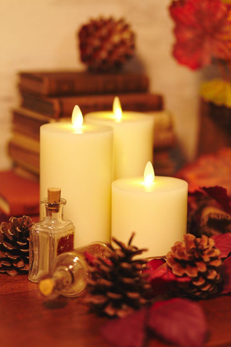 Christmas candles wonderful christmas candle decoration ideas - 3 Luminara Candles