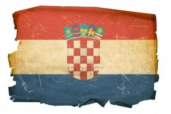Old Croatian Flag