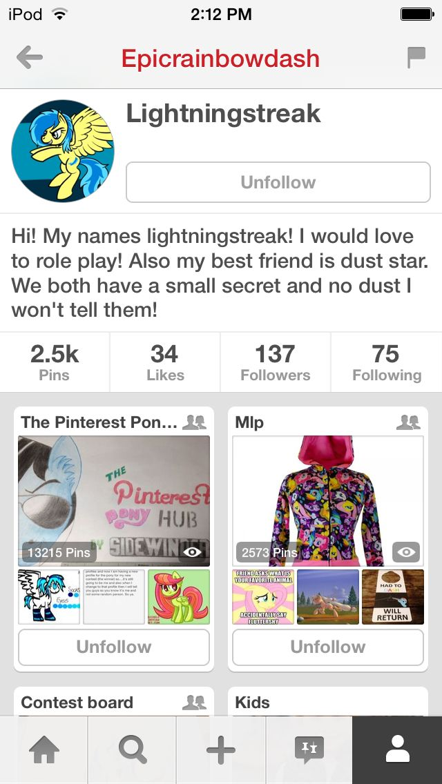 Check out my other profile! It's pretty awesome.