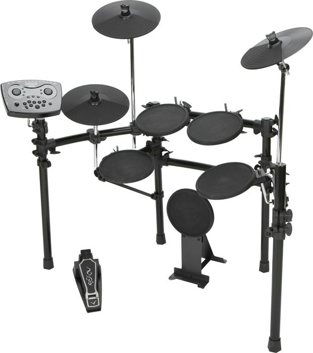 Simmons SD7PK Electronic Drum Set... This is the main part of my kit setup.