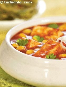 Paneer Corn Korma ( Protein Rich Recipes )