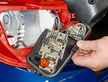 How to change the tail light bulbs on your car.