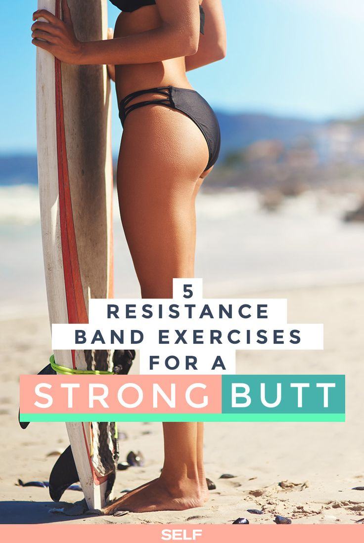 5 Effective Resistance Band Exercises For A Strong, Firm Butt!