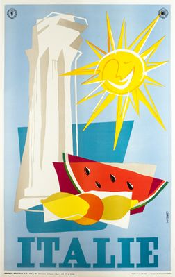 1955 Italy poster