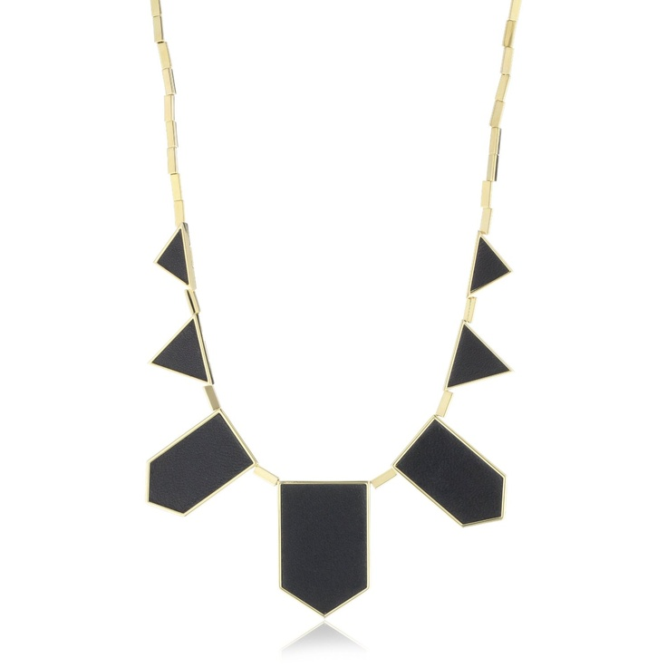 Just a beautiful piece of jewelry. Love that it's geometric and modern