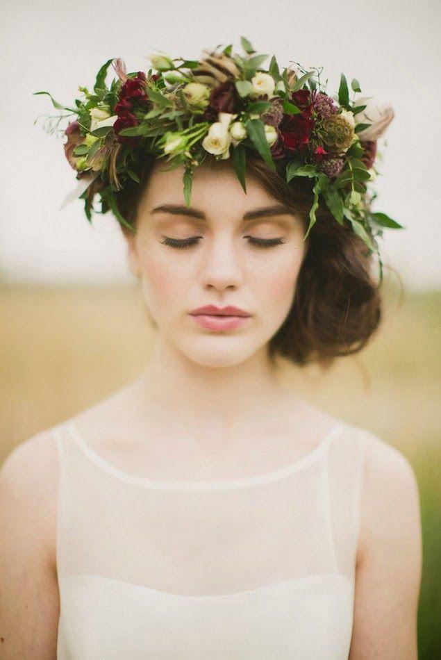 coiffure mariage automne