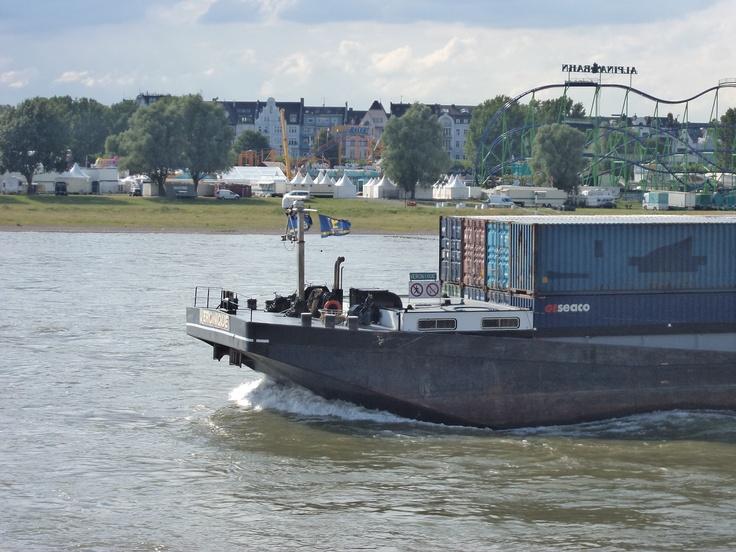 Rhein by Düsseldorf