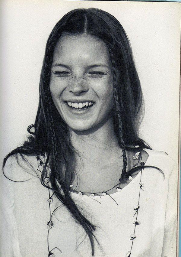 Kate Moss photographiée en 1990 par Corinne Day pour le magazine The Face (Corrine Day).