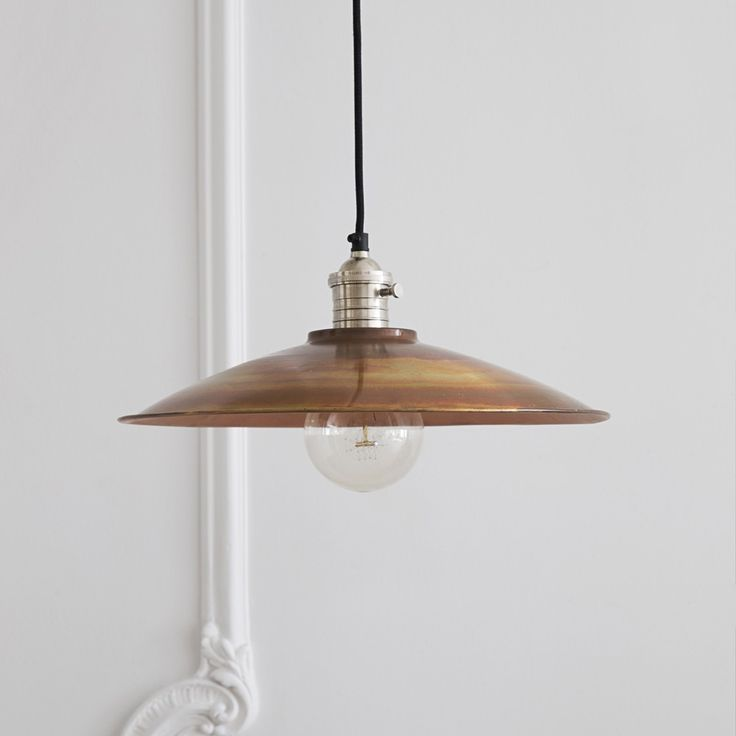 Industrial yet sophisticated the soho ceiling pendant will create a modern cosmopolitan look shade in burnished copper with nickel plated fitment and black