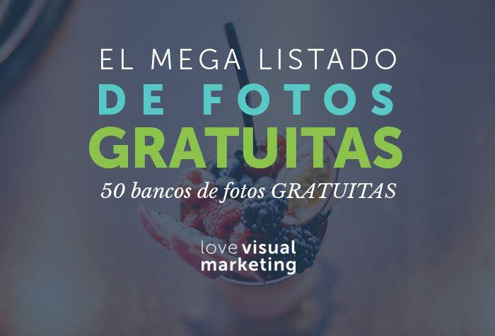 ¿Necesitas fotos para tus proyectos? Este mega listado de 50 bancos de imágenes GRATIS te va a servir para tus proyectos online: blog, página web, campañas, redes sociales y más. Ingresa aquí.