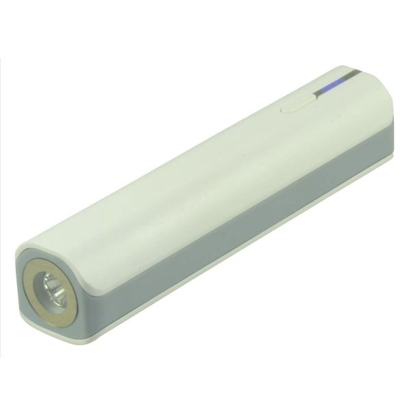 2-Power Travel 3000 mAh med lygte