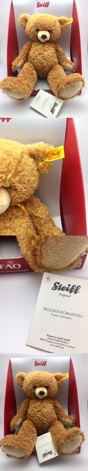 1970-Now 2602: Steiff Fao Schwarz Exclusive Freddy The Teddy Bear Collectible Stuffed Animal -> BUY IT NOW ONLY: $44.99 on eBay!