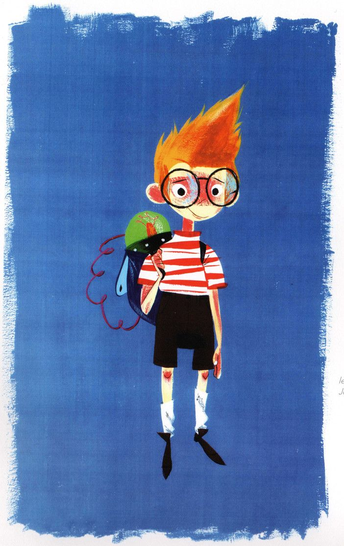 Character Design Editor : Character design for disney s quot meet the robinsons all