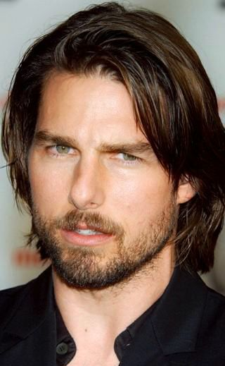 tom cruise - love reminiscing the times, staring at his lips, looks & locks made me escape reality for hours at a time!!