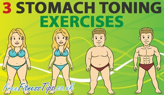Want to tone and tighten your abs? Then check out these three stomach toning exercises.
